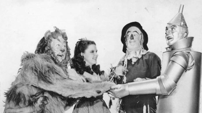El Mago de Oz tuvo un resurgimiento cuando fue transmitido por CBS en 1956