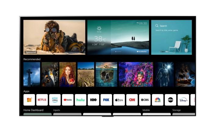 nuevos televisores LG CES 2021