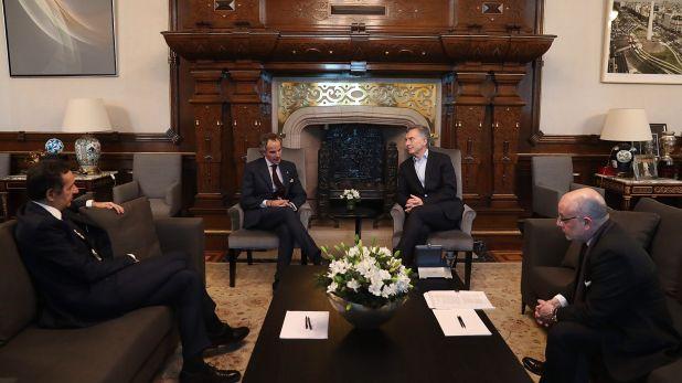 Grossi agradeció a Macri el apoyo que le dio para lograr su candidatura y posterior designación para la OIEA