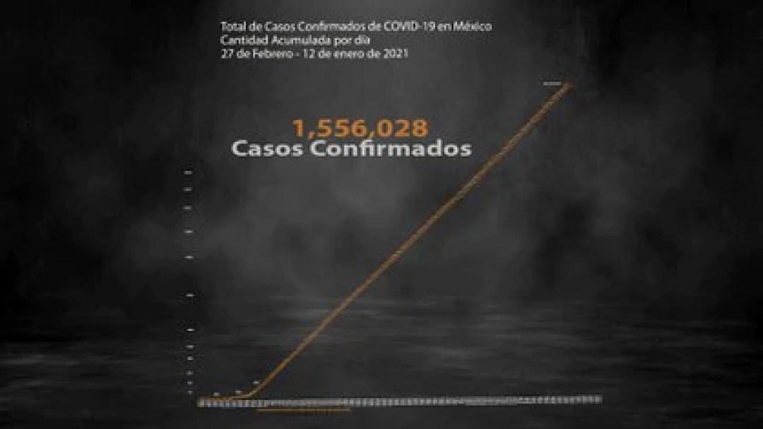 Hasta este martes se registraron 1,556,028 casos positivos acumulados y 135,682 muertes por COVID-19 en México (Ilustración: Steve Allen)
