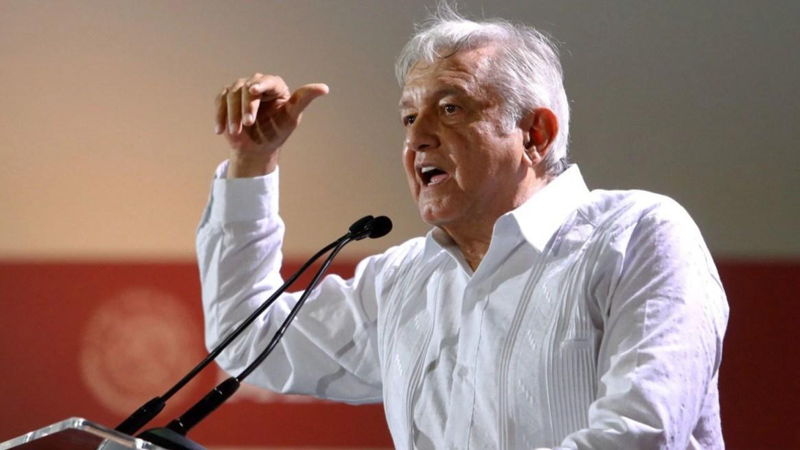 López Obrador planteó cancelar el Tren Maya en caso de que haya oposición de los pobladores en una consulta (Foto: Elizabeth Ruiz/Cuartoscuro)