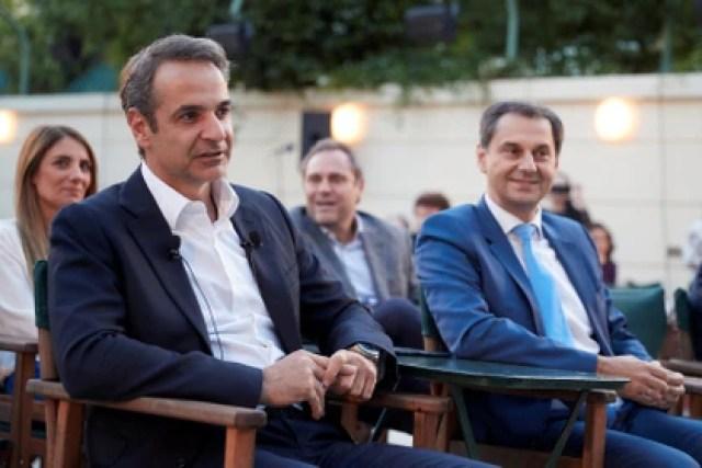 Kyriakos Mitsotakis, primer ministro griego (Greek Prime Minister's Office/ Dimitris Papamitsos/ Handout vía Reuters)