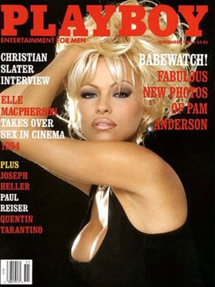 """En 1994 ya no era una rubia más en la portada de """"Playboy"""", era Pam Anderson"""