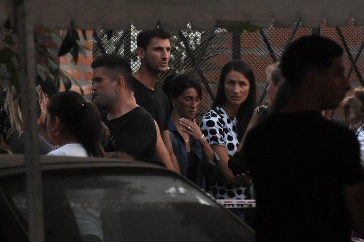Su amigo Germán Chiaraviglio estuvo entre los presentes en el velatorio que se realizó en su hogar (Foto: Nicolás Stulberg)