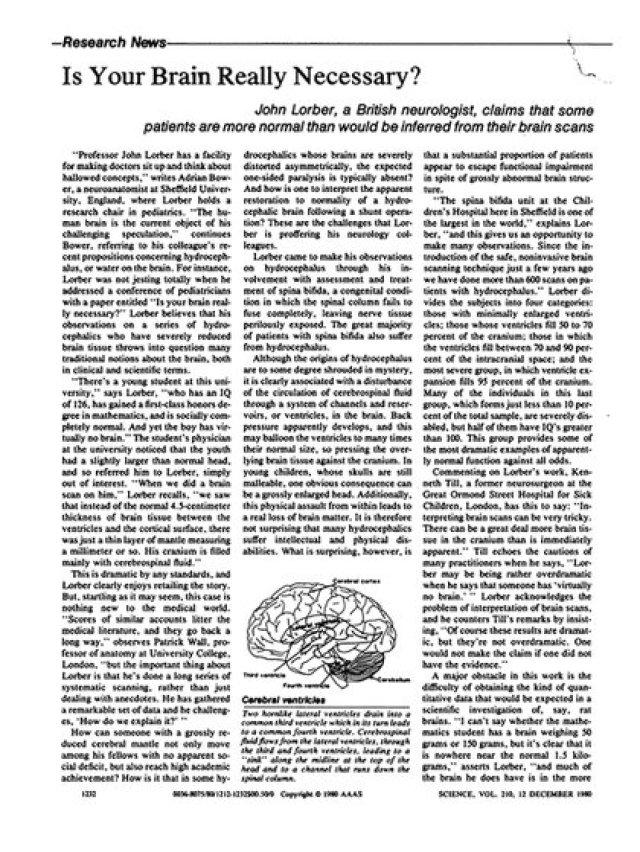 Parte del artículo publicado por Science