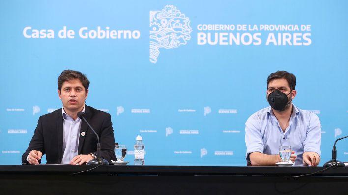 Conferencia de prensa Axel Kicillof DISPO 6 de noviembre
