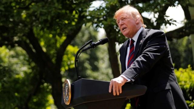 Donlad Trump presentó en la Casa Blanca su nueva proyecto de ley para reformar el sistema migratorio