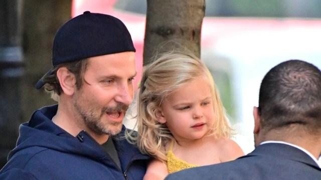 Bradley Cooper con su hija Lea De Seine ( The Grosby Group)