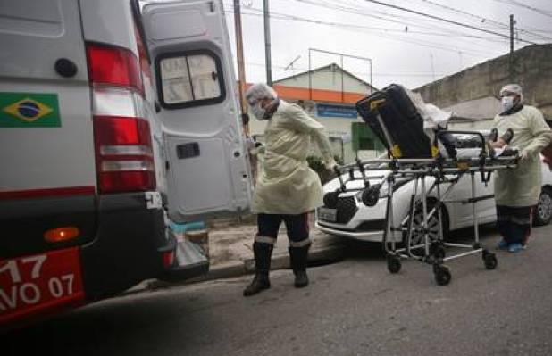 El alcalde de San Pablo advirtió que en el estado, el más afectado por el coronavirus en Brasil, esperan un colapso en el sistema de salud (REUTERS/Rahel Patrasso)