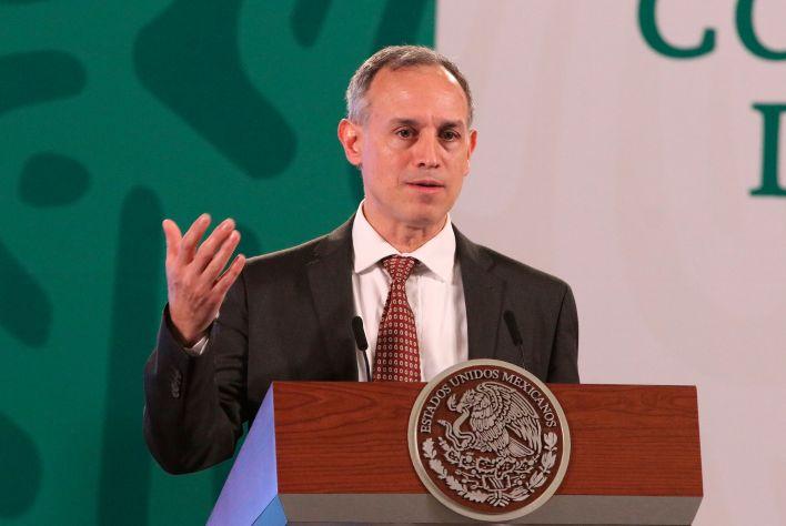 El subsecretario de Prevención y Promoción de la Salud, Hugo López Gatell (Foto: EFE/José Pazos)