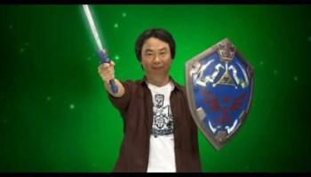 Shigeru Miyamoto, the genius behind Super Mario and The Legend of Zelda, among others.