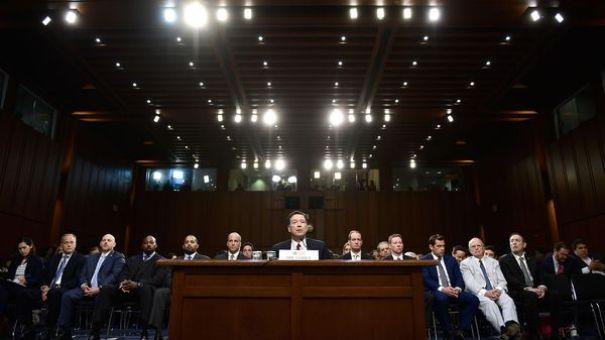 James Comey, expulsado del FBI por Donald Trump, compareció ante el Senado el jueves pasado (AFP)