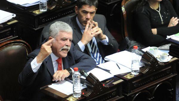 Julio de Vido en la Cámara de Diputados (Télam)
