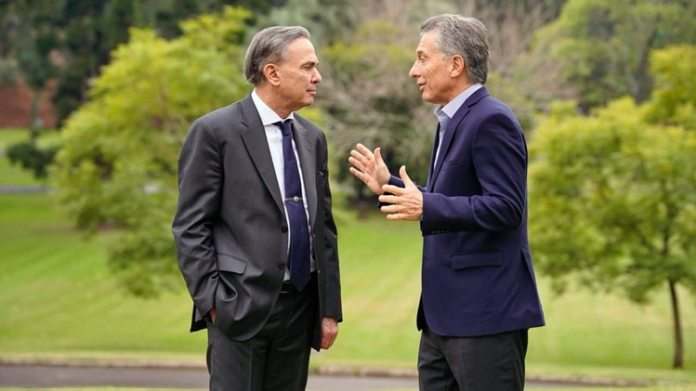 Macri y Pichetto: la primera foto de la fórmula de la coalición Juntos por el Cambio