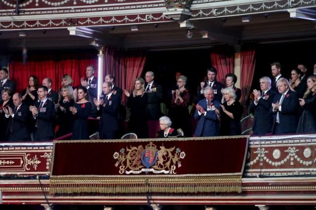 El palco real del Royal Albert Hall (Foto: Chris Jackson/AFP)