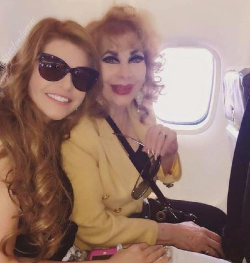 Itatí Zucchi, la madre de Itatí Cantoral murió en agosto (Foto: Twitter/TvsEspectaculos)
