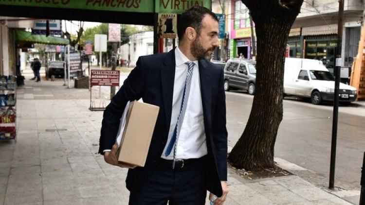 Ezequiel Klainer, abogado de los acusados (Fotos Adrián Escándar)