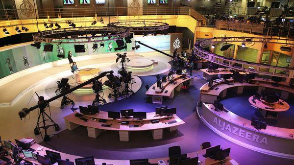 Un estudio de Al Jazeera, la cadena de televisión más importante del Medio Oriente