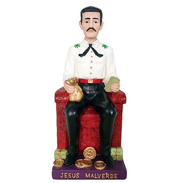 """Un """"homenaje"""" al mexicano Jesús Malverde"""