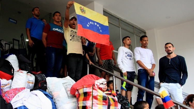 Militares venezolanos en Cúcuta (EFE)