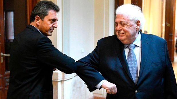 Sergio Massa y Ginés González García