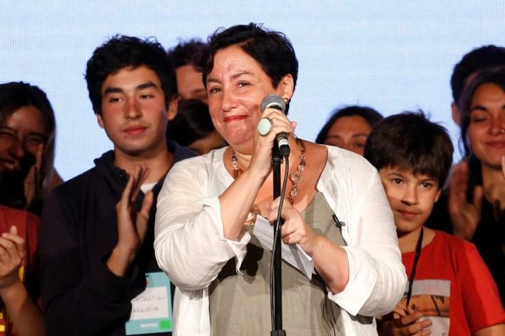 Beatriz Sanchez fue la candidata presidencial del Frente Amplio en 2017 (AFP PHOTO / Pablo VERA)
