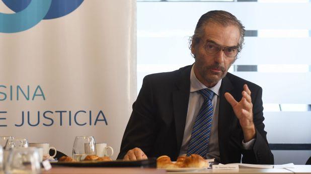 Gustavo Hornos, nuevo vicepresidente de la Cámara de Casación (Foto: Fabián Ramella)