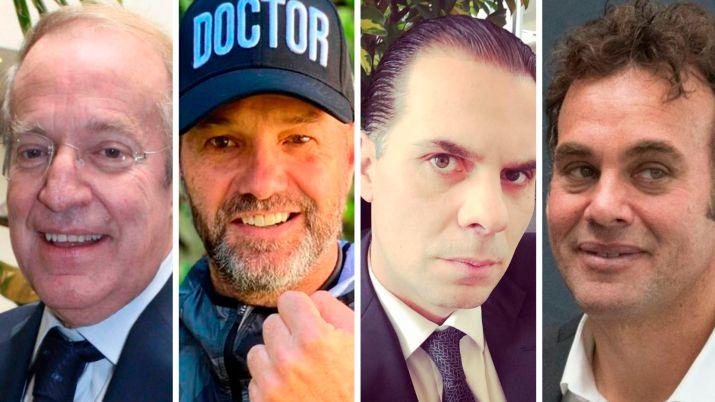 Martinoli, José Ramón, Luis Garcia y Faitelson (Foto: Instagram/Cuartoscuro)
