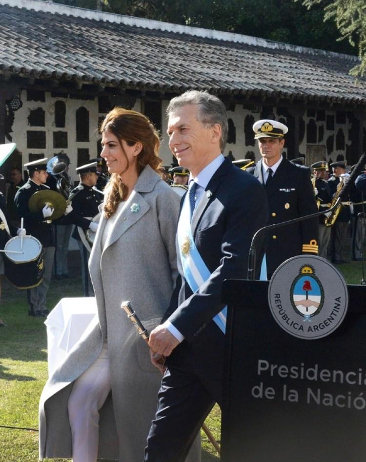 El Jefe de Estado estuvo acompañado por la primera dama, Juliana Awada (Presidencia)