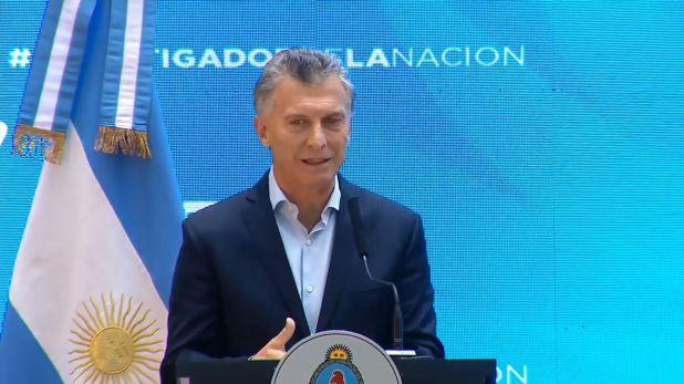 Mauricio Macri, uno de los criticados por Cristina Kirchner (Presidencia de la Nación)