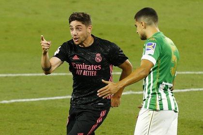 Federico Valverde sufrió una lesión muscular (REUTERS/Marcelo Del Pozo)