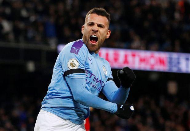 Nicolás Otamendi será titular en la defensa del Manchester City (REUTERS/Phil Noble)