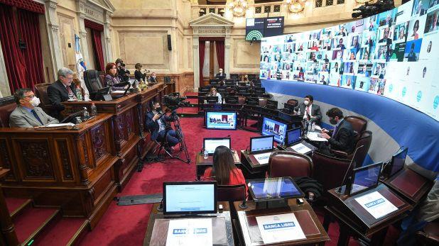 senado proyecto de ley de reduccion de la coparticipacion de la ciudad de Buenos Aires 1