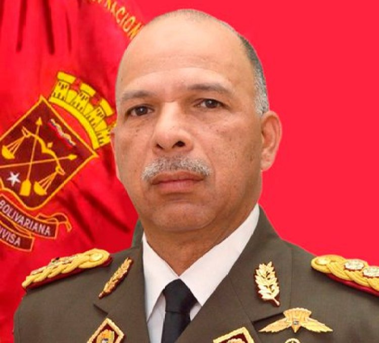 MG Richard López Vargas era comandante general de la GNB
