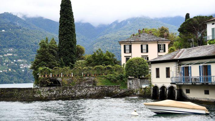 La mansión de los Clooney en Lago de Como, Italia (Reuters)