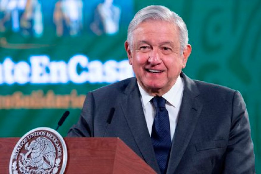 AMLO had manifested little exhaustive measures against COVID-19 (Photo: EFE)