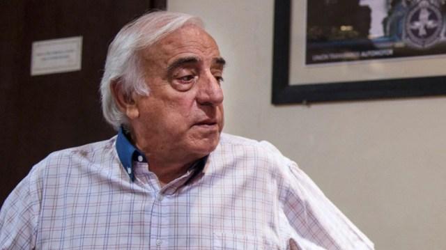 Roberto Fernández, secretario general de la UTA (NA)