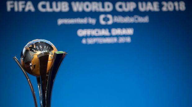 El trofeo que los siete clubes intentarán levantar (AP)