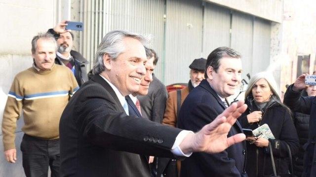 Alberto Fernández con Casas y Zamora en una de las cumbres con gobernadores