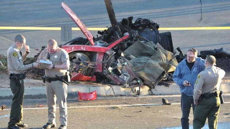 La imagen del vehículo en el que viajaba Walker