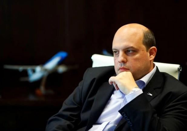 Pablo Ceriani es el presidente de Aerolíneas. REUTERS/Agustin Marcarian