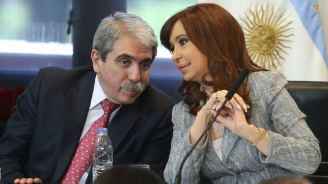 """No es verdad que Cristina sea chorra"", dijo Aníbal Fernández. Foto: (NA)"