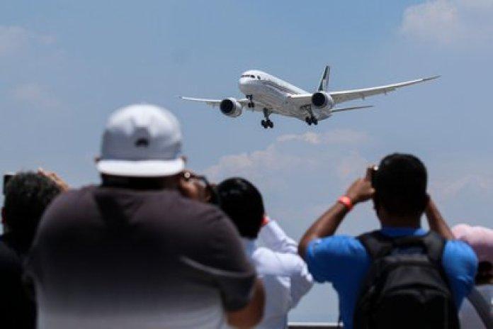 El avión presidencial permaneció un año y medio fuera del país sin que se concretara su venta (FOTO: GALO CAÑAS /CUARTOSCURO.COM)