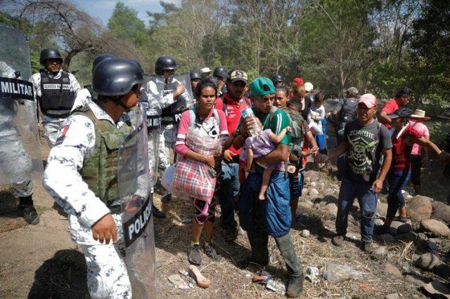 Los cientos de deportados son hondureños de origen (Foto: José Cabezas/ Reuters)
