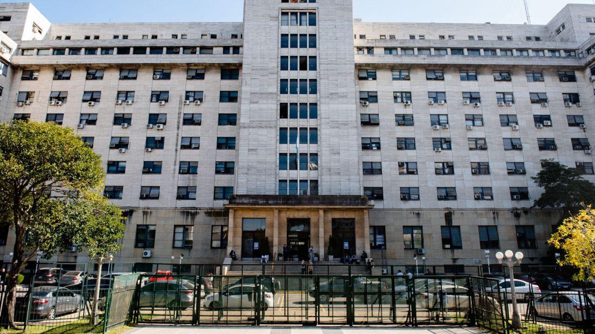 Los tribunales de Comodoro Py (Adrián Escandar)