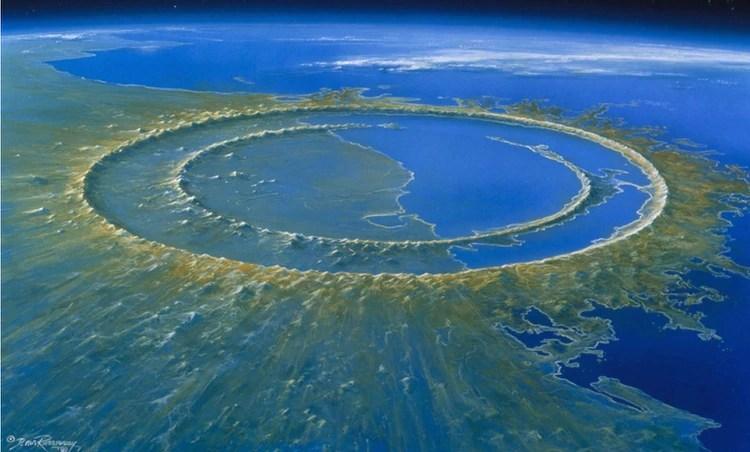 En Yucatán, aún se puede apreciar los rastros del impacto del asteroide que cayó en hace 66 millones de años