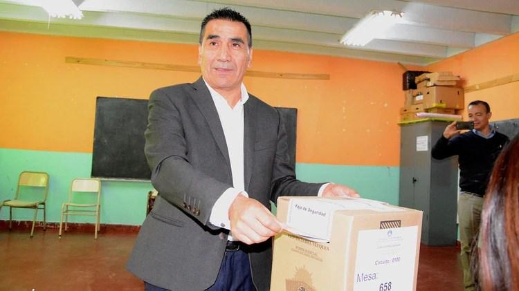 El candidato kirchnerista Ramón Rioseco (Gentileza Maria Laura Pino)