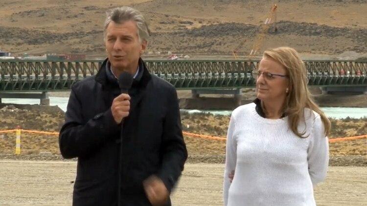Macri visitó por primera vez Santa Cruz y se reunió con Alicia Kirchner