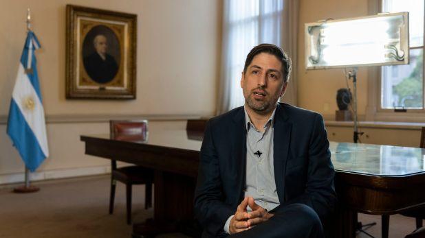 El ministro de Educación, Nicolás Trotta (Adrián Escandar)