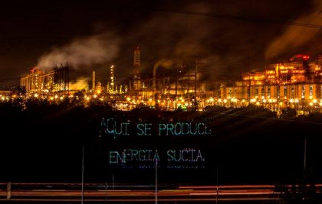 Greenpeace ha cuestionado la política energética nacional a través de los juzgados (Foto: Greenpeace México)